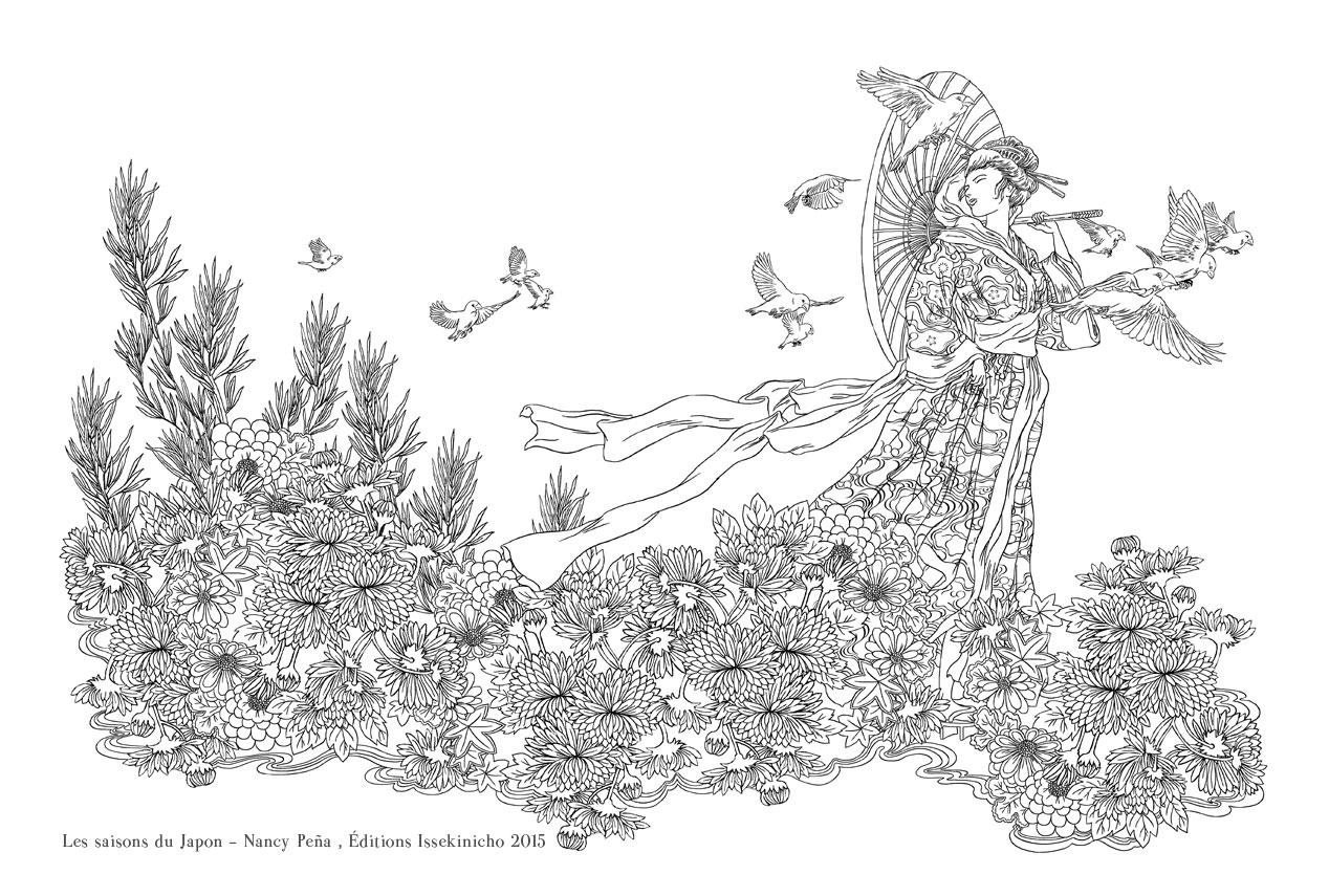 Les Saisons Du Japon Editions Issekinicho