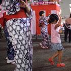 Bon-odori, quand les japonais se mettent à danser.