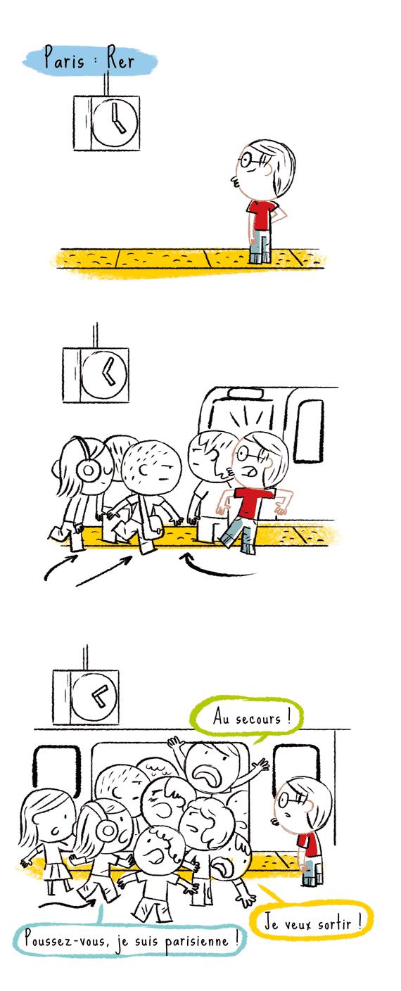 blog japon, métro paris, rer
