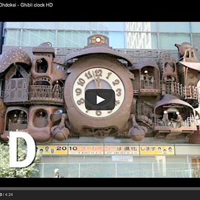 Horloge Ghibli – Nittere Ohdokei