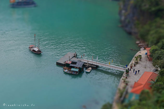 Halong bay tilt-shift