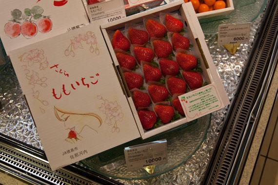 fraises au Japon 10000¥