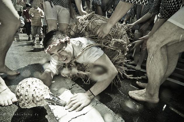 mizudome no mai, gonshoji, fete de l'eau, danse du lion, Tokyo