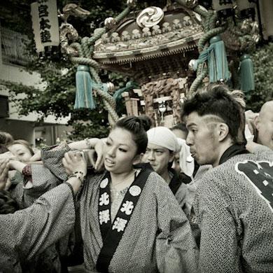 Kitazawa matsuri • 北沢八幡神社 祭り