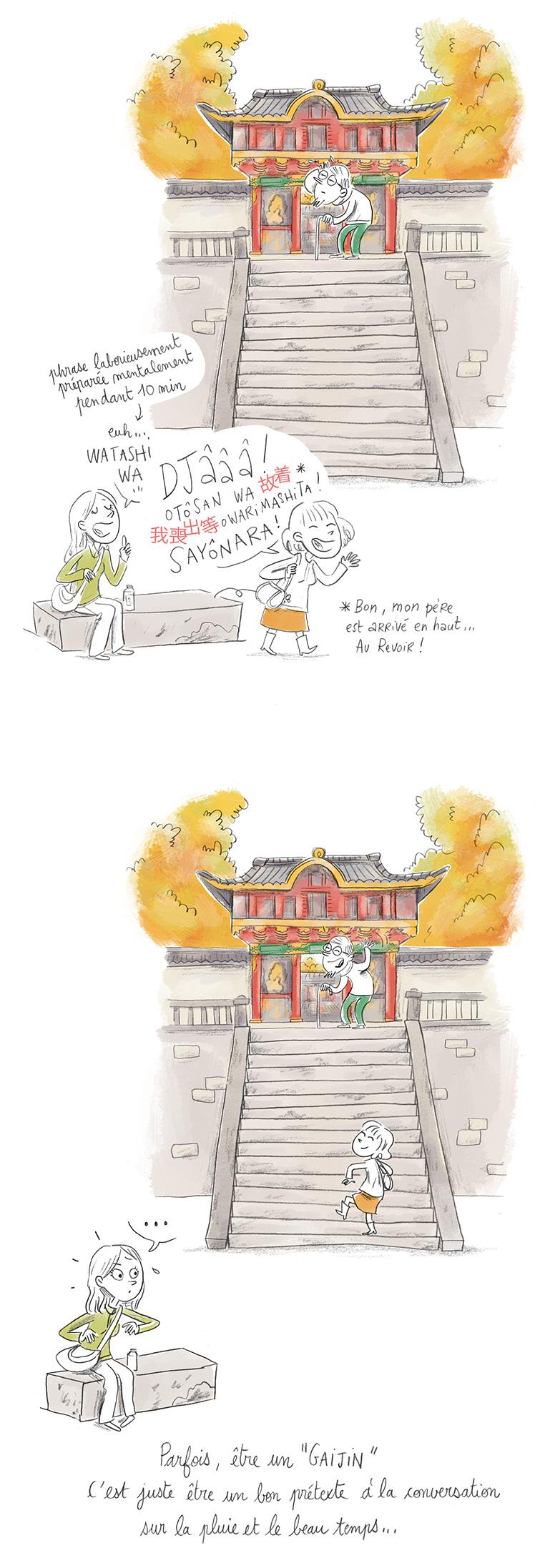 Gaijin étrangers Japon