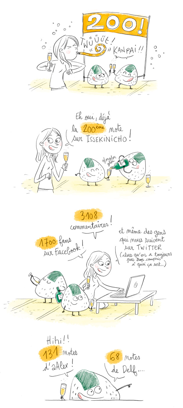 200eme note du blog issekinicho