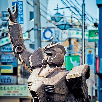 Balade à Gundam city – Kamiigusa 上井草