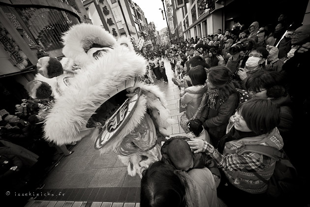 nouvel an chinois à Yokohama