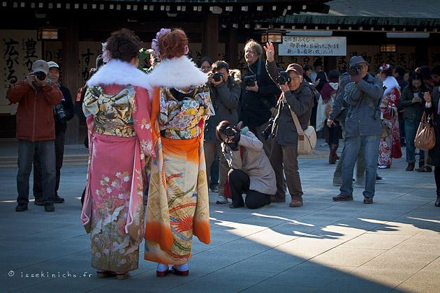 seijin no hi meiji jingu Tokyo Japon