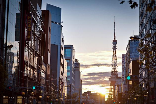 Tokyo, Roppongi, Sunrise
