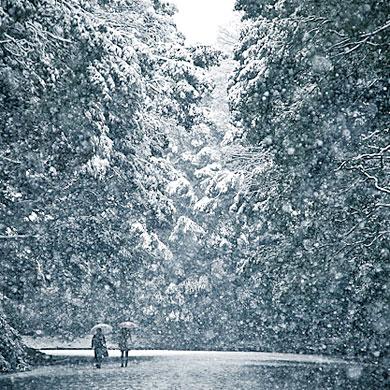 Il a neigé ^_^