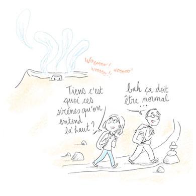 Périple d'Avril : Promenons-nous sur l'volcan