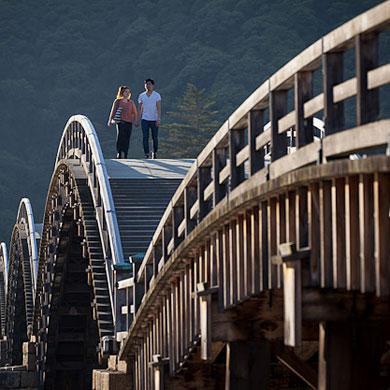 Périple d'Avril : Kintaikyo, le pont d'Iwakuni