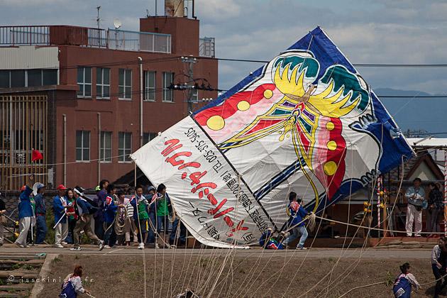 festival cerf volant, japon, combat de cerf volant, Niigata, Shirone