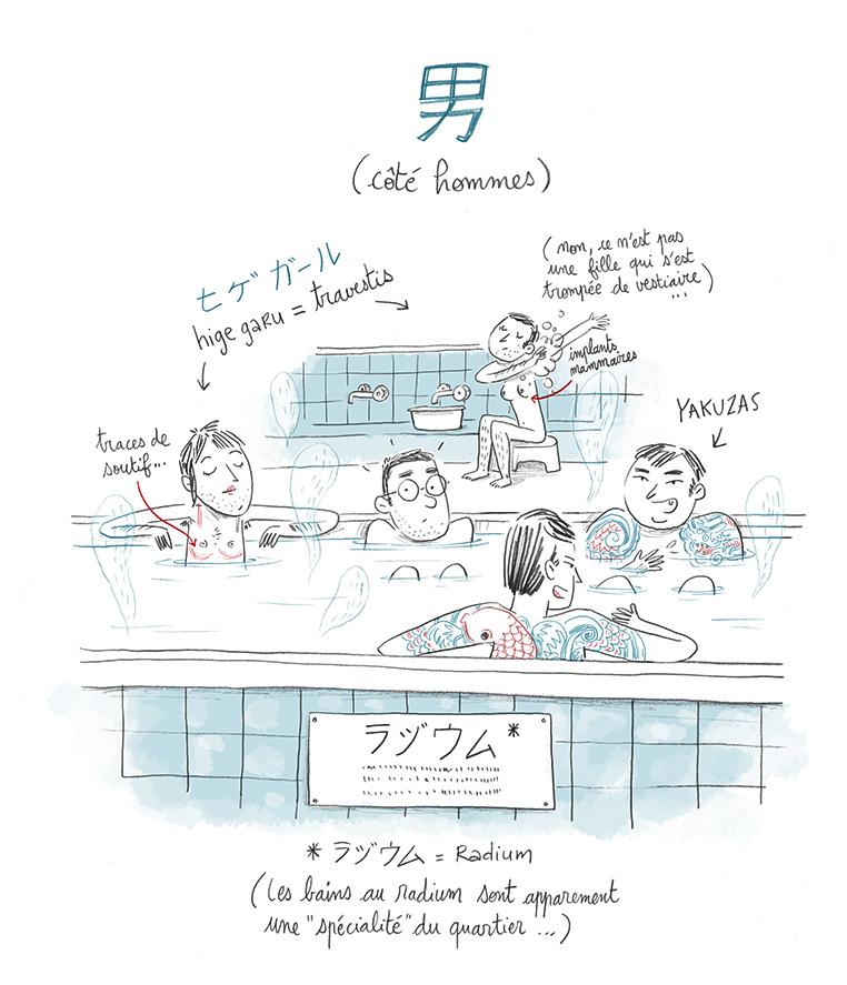 bains publics Japon