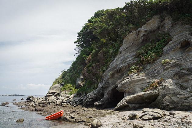 péninsule de Miura, miura peninsula, crique, japon