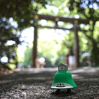 Lawhill en balade à Tokyo