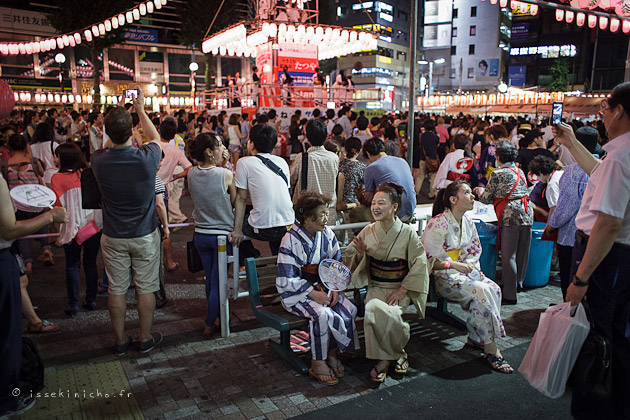 bonodori, danse traditionnelle, japon, festival, matsuri