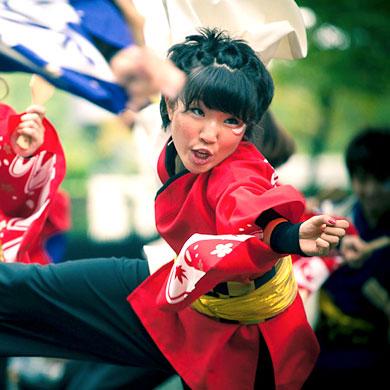 Festivals de danse d'été : Super Yosakoi Harajuku • 原宿表参道元氣祭 スーパーよさこい
