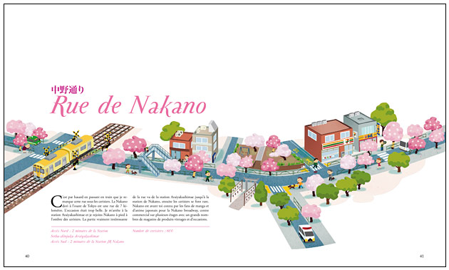nakano dori, illustration