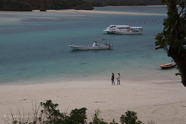 okinawa, ishigaki, kabira bay, plage, beach, bateau, boat, girls, japonaise