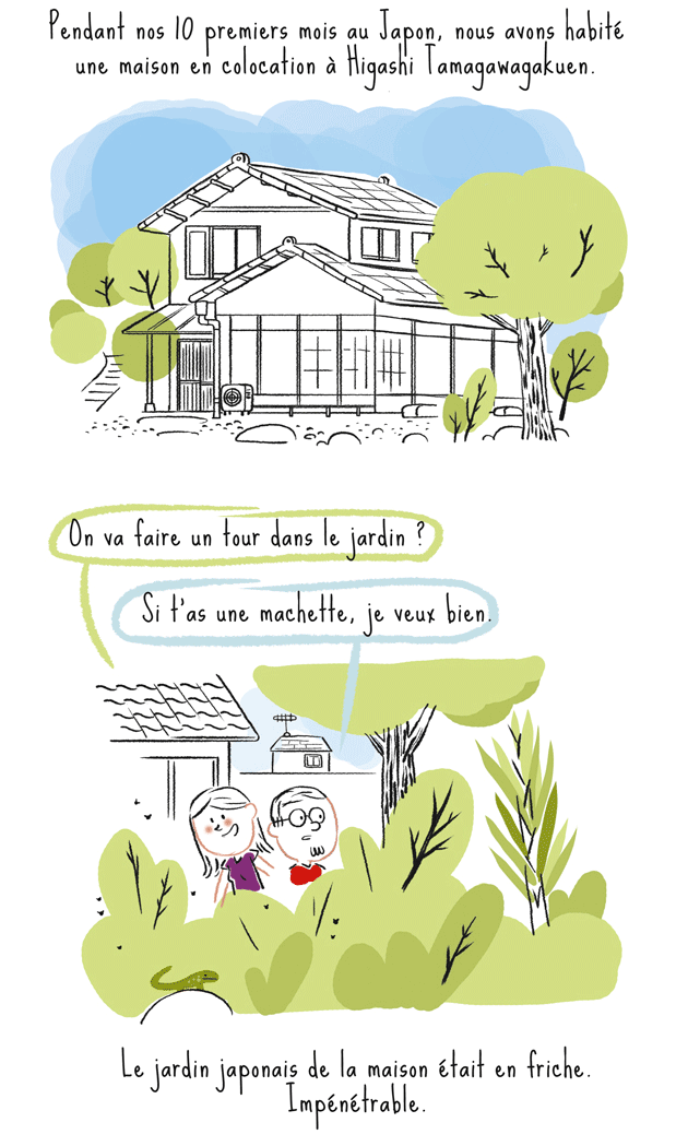 japon, jardin, tokyo, machida, maison traditionnelle
