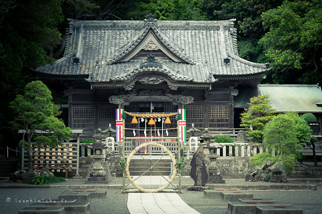 temple, japon, zoom, focale
