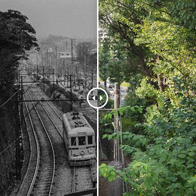 Tokyo 1960 – Mejiro, ligne Toden Arakawa