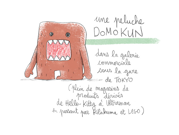 japon, domokun, illustration