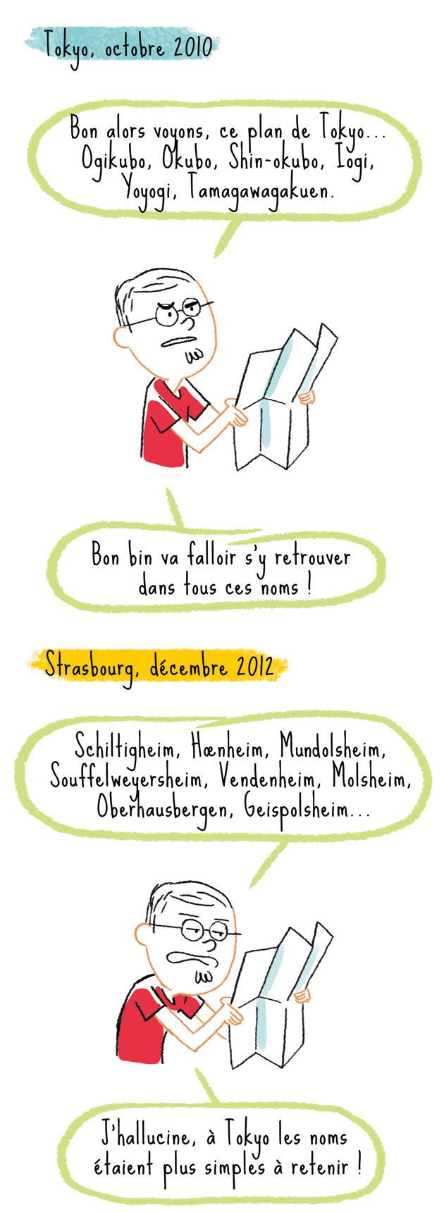 strasbourg Alsace villes Japon