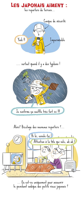 typhon, japon, tempête, typhoon, reportage, reporter