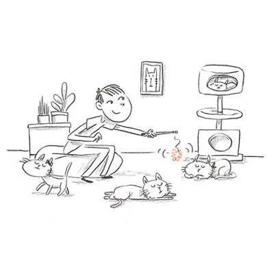 Ventres sur pattes [ extrait du livre Nekoland, une vie de chat au Japon ]