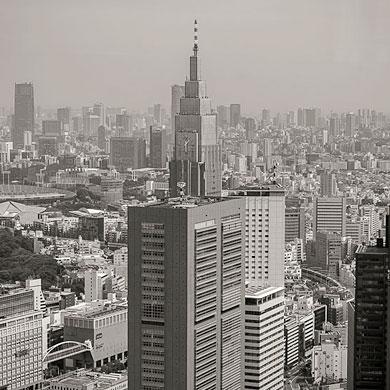La tête dans les nuages – n°08 Shinjuku Center building 新宿センタービル