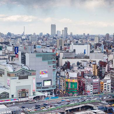 La tête dans les nuages – n°06 Hôtel Odakyu à Shinjuku