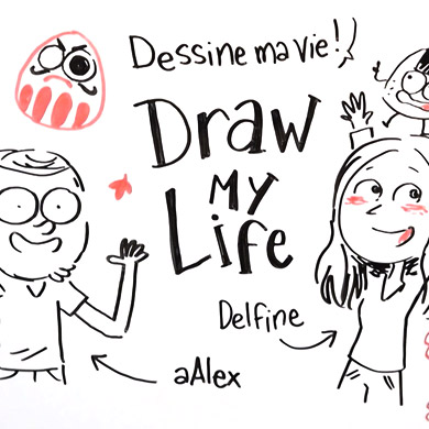 "Le blog a 5 ans ! [ Vidéo ""Draw my life"" ]"
