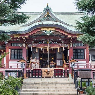 Temple des chats – Imado Jinja