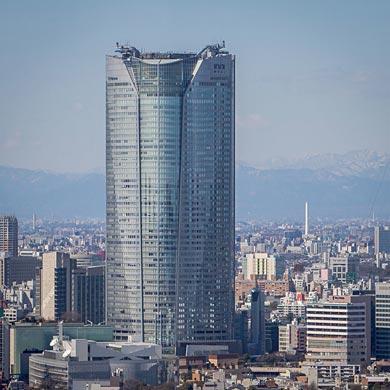 La tête dans les nuages – n°14 Mori tower