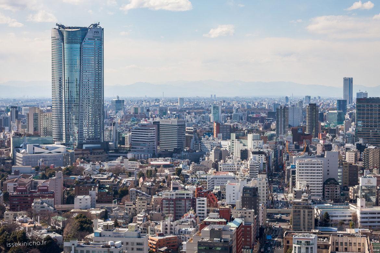 Vue de Tokyo avec building Mori tower