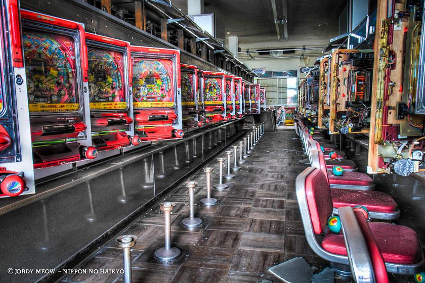 nippon no haikyo, beau livre japon, lieux abandonnés, lieu abandonné, urbex, pachinko, casino, salle de jeux