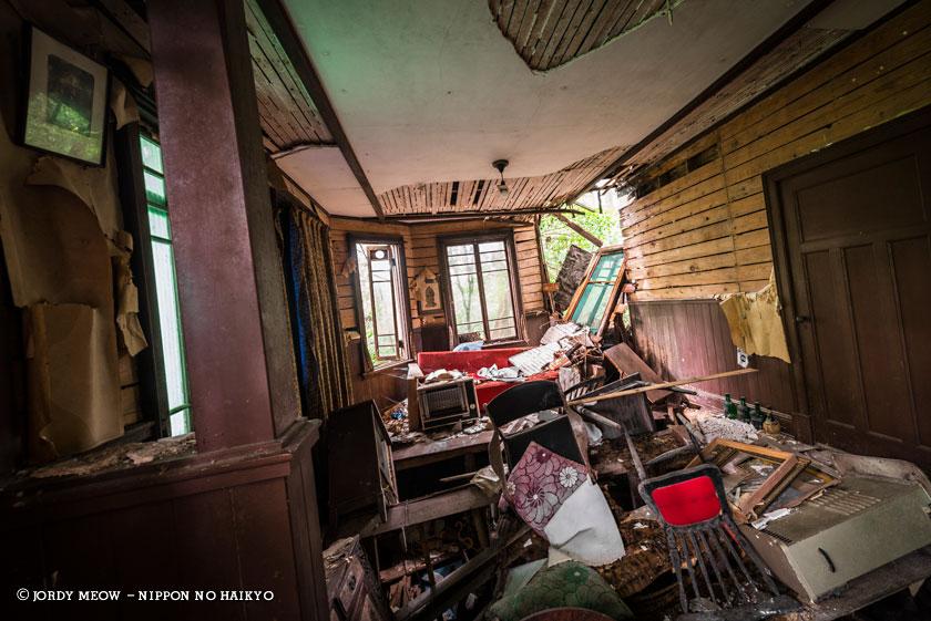 nippon no haikyo, beau livre japon, lieux abandonnés, lieu abandonné, urbex, maison, villa