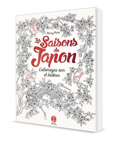 Les saisons du Japon - Coloriages zen et haïkus