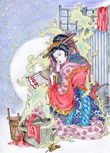 concours coloriage saisons japon gagnant