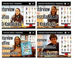 vidéos d'interview d'auteurs