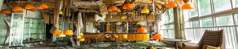 lieu abandonné du Japon