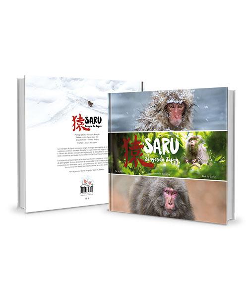 livre de photos animalières sur les singes du Japon