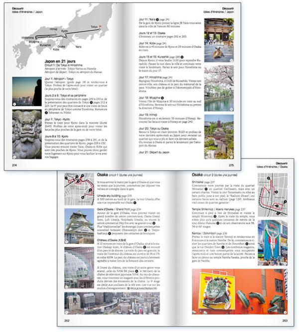 extraits d'un guide de voyage Japon