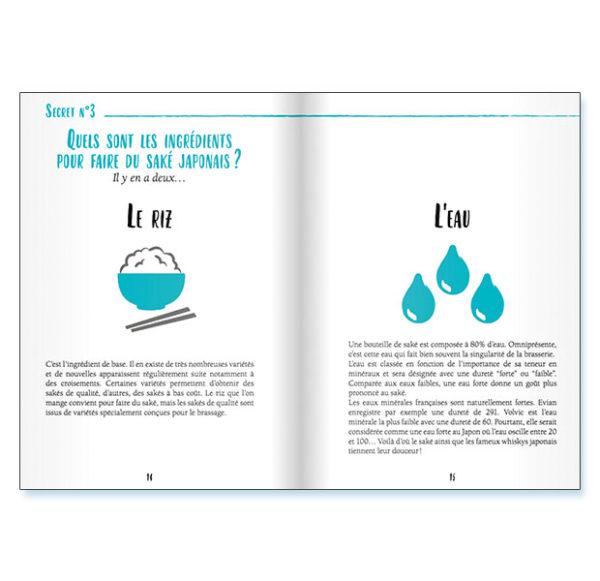 extrait d'un livre sur le saké
