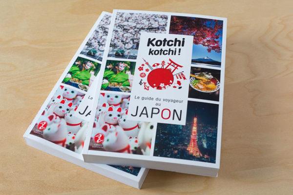 couverture d'un guide de voyage sur le Japon