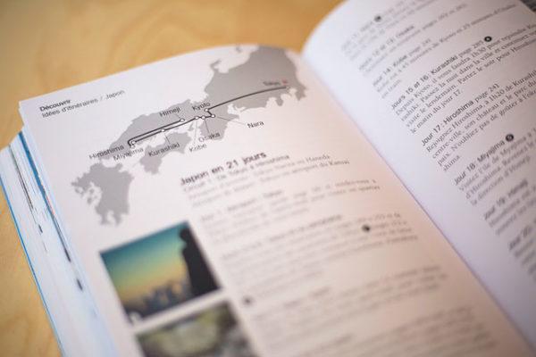 extrait d'un guide de voyage sur le Japon