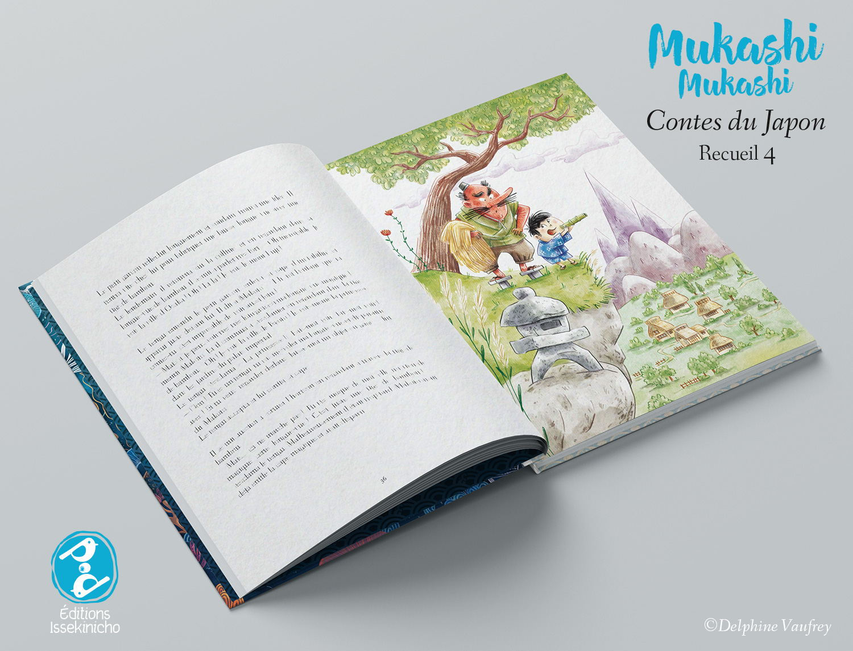 Mukashi mukashi Contes du Japon Recueil 4 • Editions